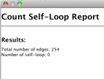 Count Self Loop example