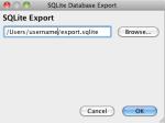 sqlite_export
